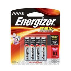 סוללת אנרגיזר AAA 1.5V מארז 8 יח'