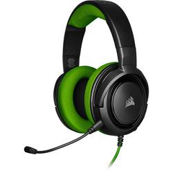 אוזניות גיימינג -CORSAIR HS35 STEREO ירוק