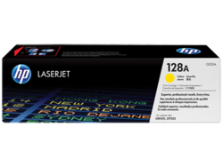טונר לייזר HP CE322A צהוב 1300 דף (128)
