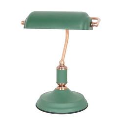 מנורת שולחן וינטאז קלאופטרה E27 OMEGA אדום/ירוק