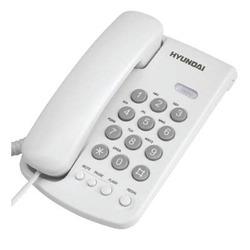 טלפון שולחני יונדאי HDT-2400W לבן