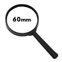 זכוכית מגדלת 60 מ'מ