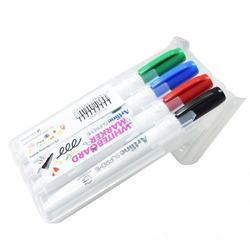 סט טוש ללוח מחיק 4 צבעים ארטלין דק EPF507