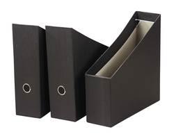 קופסה לקטלוג קרטון שחור + טבעת