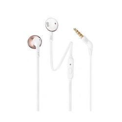אוזניות חוטיות עם מיקרופון JBL T205 אדום