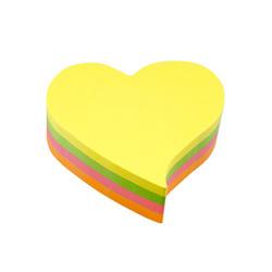 מדבקות תזכורת צבעוני לב INFO