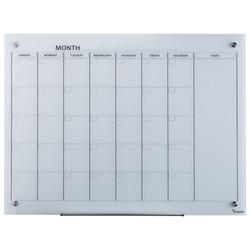 לוח מחיק זכוכית לתכנון חודשי 90x120