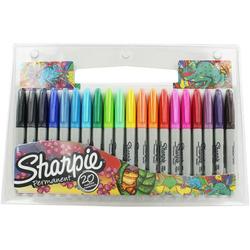סט טוש שרפי 20 צבעים 1 מ'מ Sharpie FINE SET