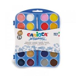 סט צבעי מים 24 יח' CARIOCA
