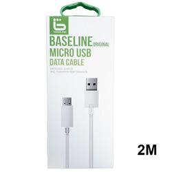 כבל סנכרון איכותי Micro USB באורך 2 מטר
