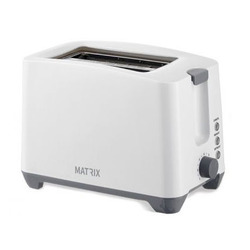 טוסטר מצנם ל- 2 יח' MX-T2001-T-WH MATRIX הוואי לבן