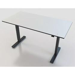 שולחן מתכוונן פנאומטי בעל פלטה אורגונומית