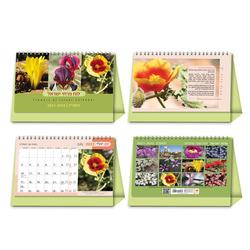 לוח שנה שולחני פרחים 21/15 ס'מ 630343