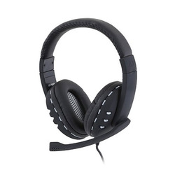 אוזניות + מיקרופון GP GPL1000B USB