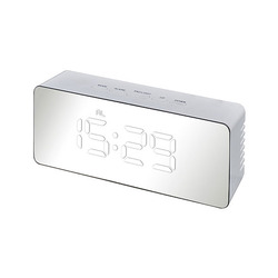 שעון שולחני דיגטלי לבן 4279