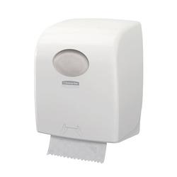 מתקן למגבת ידיים ממותגת בגליל Aquarius לבן