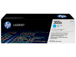 טונר לייזר HP CE411A כחול 2600 דף (305A)