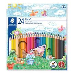עפרון צבעוני שטדלר סט 24 גונים Noris STAEDTLER