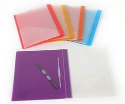 תיק תיוק ספרינג A4 חזית שקופה מגוון צבעים CAMPUS