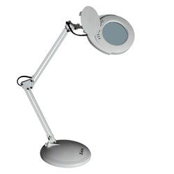 מנורת לד שולחני זכוכית מגדלת ZICO