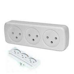 מפצל לחשמל 1 ל-3 OMEGA