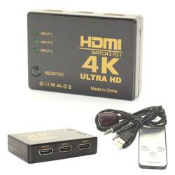 בורר 3 כניסות HDMI + שלט