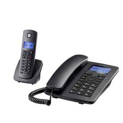 טלפון אלחוטי משולב שולחני מוטורולה C4201