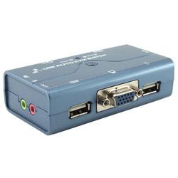קופסת מיתוג AUDIO KVM USB