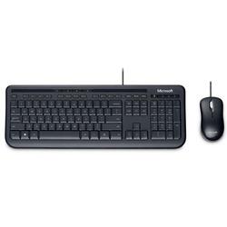 מקלדת ועכבר Microsoft Wired Desktop 600 מיקרוסופט OEM