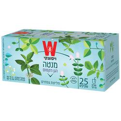 תה ויסוצקי הגן הקסום מנטה 25 שקיקים