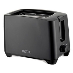 טוסטר מצנם ל- 2 יח' MX-T2001A-BK MATRIX טוקיו שחור