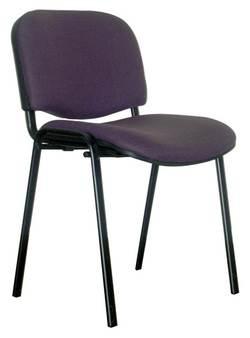 כסא משרדי אורח ויזי מרופד למשרד
