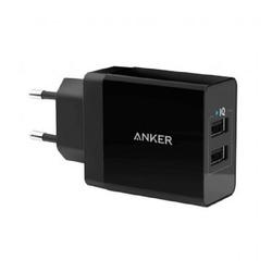 מטען קיר Anker PowerPort 24W USB 2