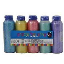 צבעי גואש פנינה במארז 5*140 גרם