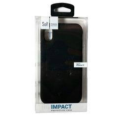 כיסוי לאייפון X/Xs שחור SOL IMPACT