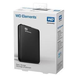 כונן קשיח חיצוני Western Digital Elements Portable WDBUZG0010BBK 1000GB