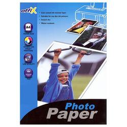 נייר להזרקה OFFIX פ.גלוסי 210 ג' A4/50