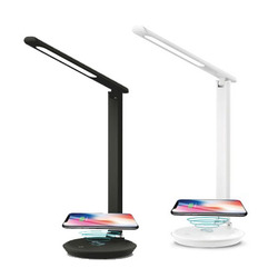 מנורת שולחן 7W NOLA + טעינה אלחוטית