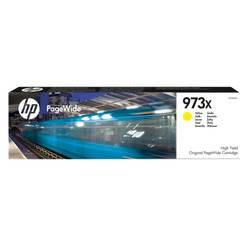 ראש דיו HP 973X מקור צהוב 7000 דף