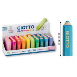 מחק דמוי עפרון צבעוני GIOTTO