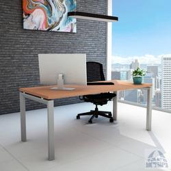 שולחן כתיבה עץ דגם ספיר רגל כסופה