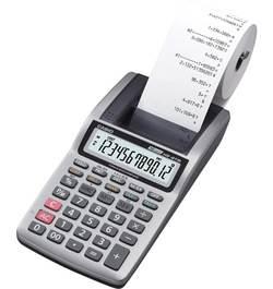 מכונת חישוב CASIO HR-8RC צבע לבן