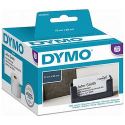 תג שם למדפסת DYMO- נייר עבה ללא דבק