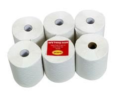מגבות נייר טישו סופר 6 גלילים