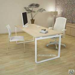 שולחן כתיבה דגם NIRO רגל לבנה