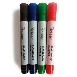 סט טוש ללוח זכוכית 4 צבעים Bclear