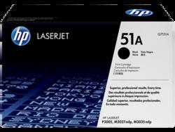טונר לייזר HP Q7551A דף 6500