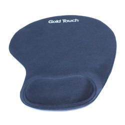 משטח לעכבר גל אורגונומי כחול Gold Touch