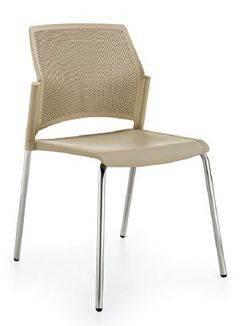 כסא אורח ריפליי פלסטיק למשרד