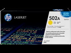 טונר לייזר HP Q6472A צהוב 4000 דף
